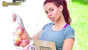 MAMACITAZ - Hot Latina Teen Gets White-haired In With an increment of Hardcore Nailed Beyond everything Cam - Canela Skin