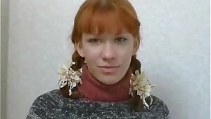 Russian Low-spirited Redhead Teen Anal Formation