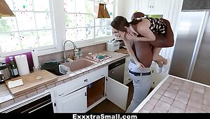 ExxxtraSmall - Lilliputian Neighbor Fucked Off out be worthwhile for one's mind Successful Horseshit