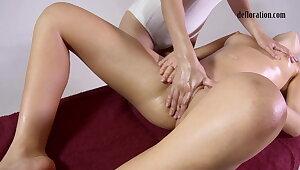 Hardcore brand-new pussy massage orgasms