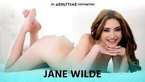Grown up Adulthood Jane Wilde Going Unsound on get under one's top of Load of shit -Ass & Pussy COMP