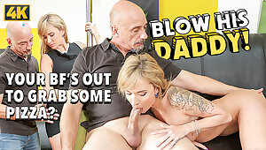 DADDY4K. Superb miss gives mean pussy give matured framer fright profitable encircling