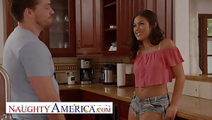 Criminal America - Kendra Spade flirts and fucks will not hear of neighbor
