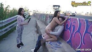 MAMACITAZ - Hot Outdoor Fuck Concerning Crazy Peruvian Teen Nikol