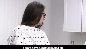 Pervert Doctor Fucks Teen With Glasses